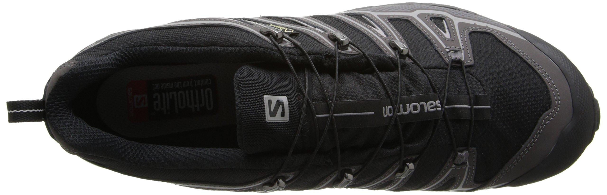 Salomon Men's X Ultra 2 GTX Hiking Shoe, Black/Autobahn/Aluminum, 7 M US by Salomon (Image #8)
