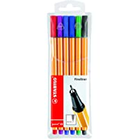 Stabilo Point 88 - Set de lápices (6 Texto)