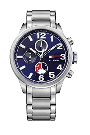 Tommy Hilfiger Mens Quartz Stainless Steel Casual Watch (Model: 1791242)