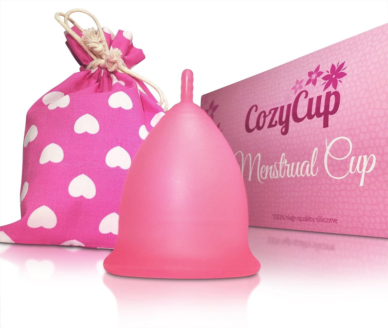 Copa Menstrual CozyCup Classic - Hecha de Silicona de Grado Médico (Rosa, Pequeño): Amazon.es: Salud y cuidado personal