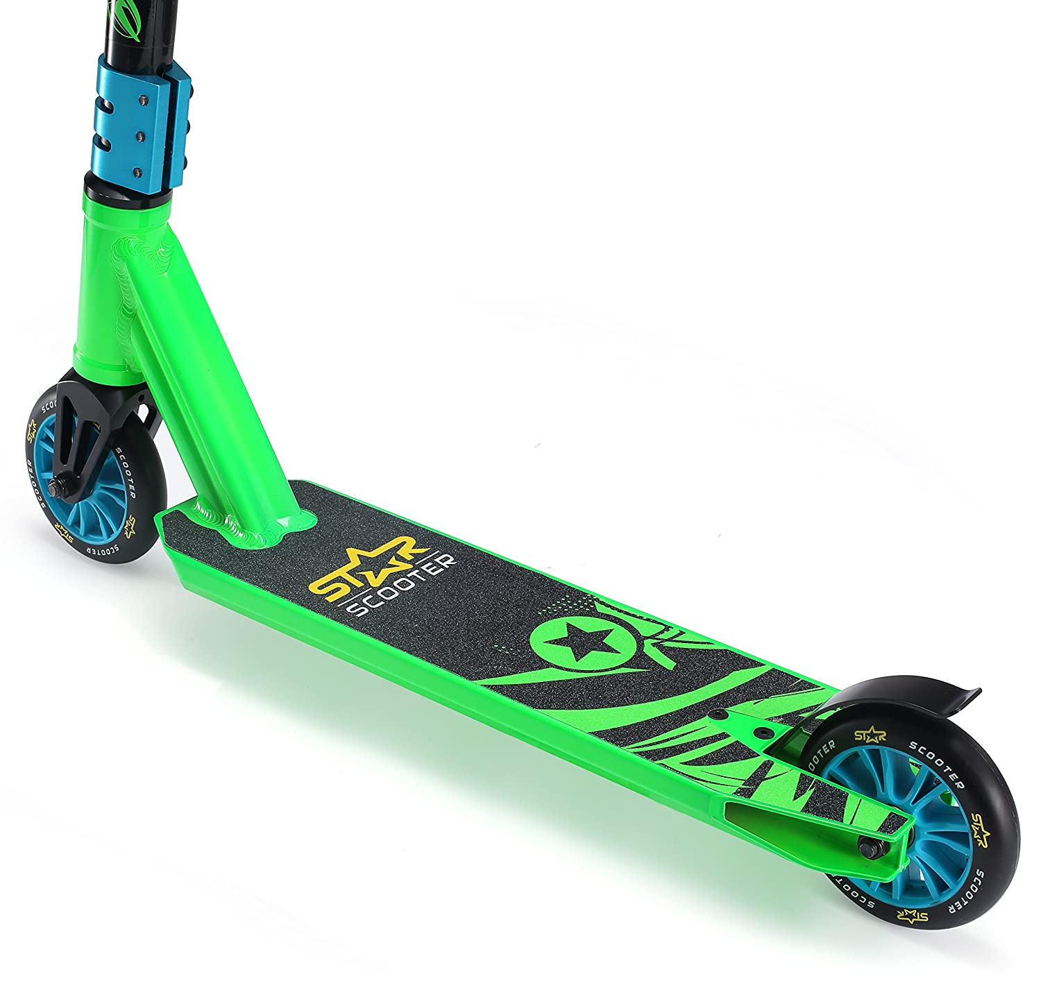 Star-Scooter Patinete Patineta Scooter Freestyle Mini Stuntscooter para niños y niñas a Partir de 5 años | 110 mm Edición Mini