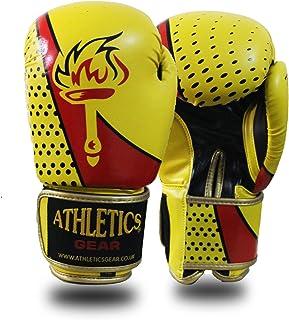 Athletics Gear Pro Gants de Boxe en Cuir