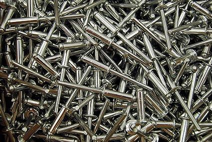 """Details about  /Aluminum 3//16/"""" x 1//2/""""  pop rivet gold anodize  68 250 pcs AAP68 Blind SHIPS FREE"""