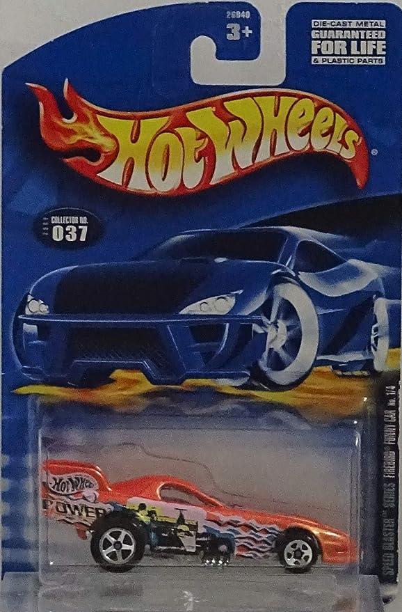 HOT WHEELS 2000 FIREBIRD FUNNY CAR SPEED BLASTER 1//4 ORANGE 26040