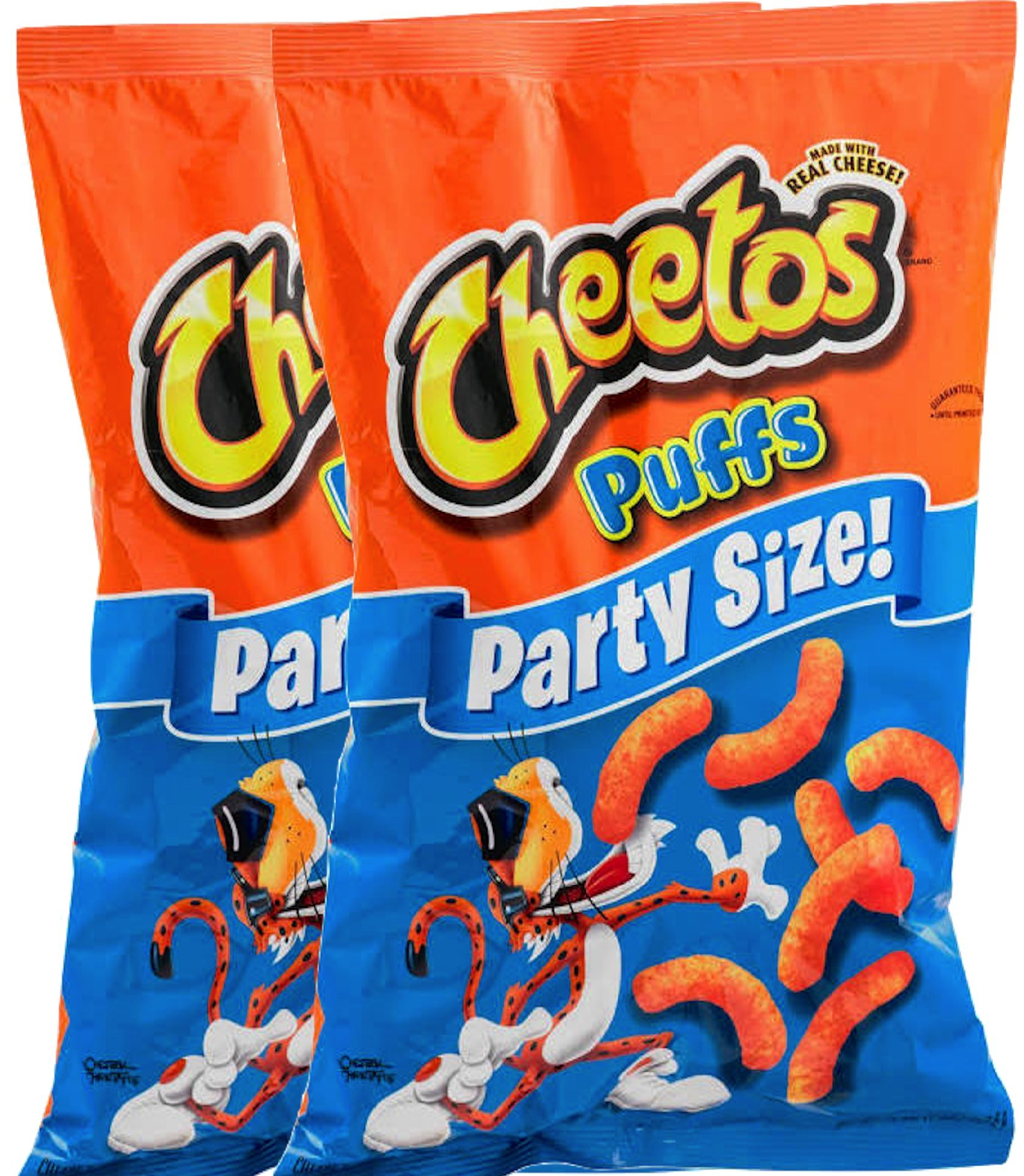 Cheetos Cheese Puffs Party Size 16 oz Bag (2)