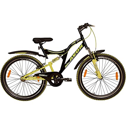 1bd134ce310 Buy AVON Ez9 Cycles for Boys - Black/Green Online at Low Prices in India -  Amazon.in