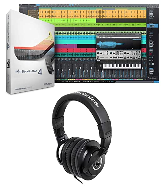 Amazon com: Presonus Studio One 4 Professional MIDI Recording DAW