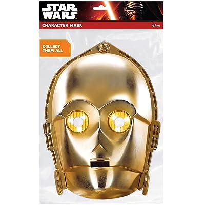 Masque carton C3-PO - Star Wars - taille - Taille Unique - 239902