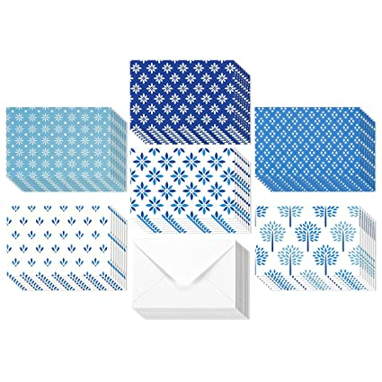 Amazon 48 pack all occasion assorted blank note cards greeting 48 pack all occasion assorted blank note cards greeting card bulk box set shades of m4hsunfo