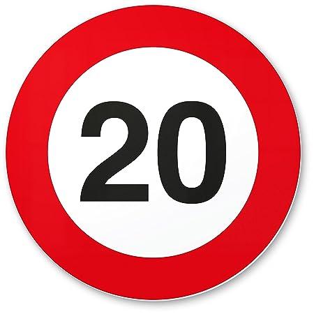 DankeDir!. 20 cumpleaños Señal de tráfico - Cartel de ...
