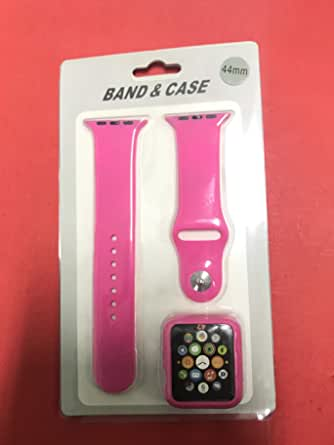 band for Apple watch 42 band and case pink
