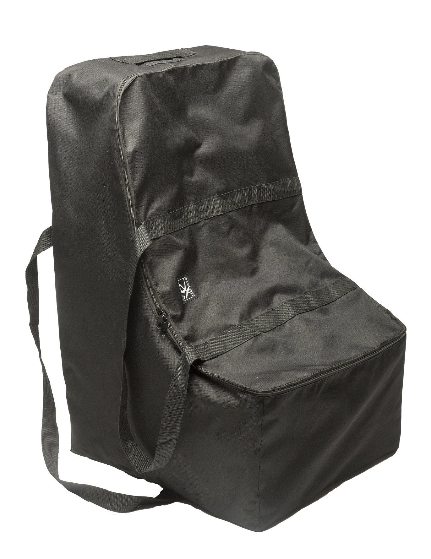 j l childress universal side carry car seat travel bag black amazon. Black Bedroom Furniture Sets. Home Design Ideas