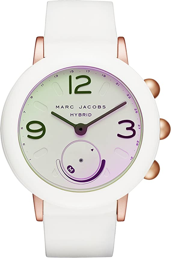 Amazon.com: Marc Jacobs Riley Hybrid - Reloj inteligente ...