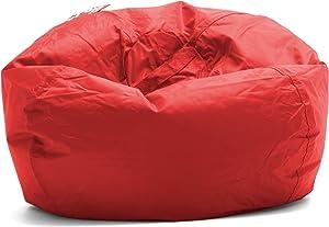 Big Joe Bean Bag, 98-Inch, Flaming Red - 641613