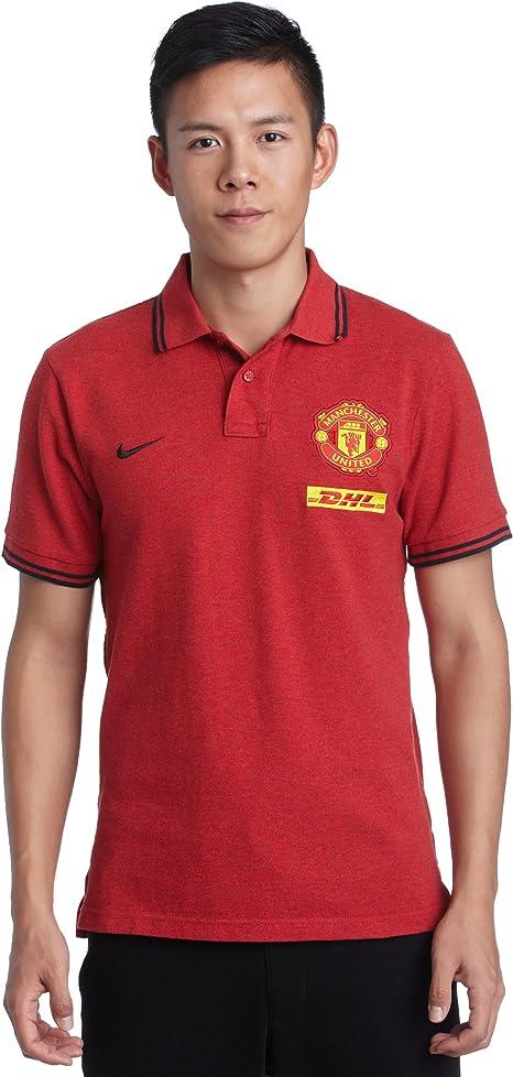 Nike Manchester United GS Polo Camisa con DHL para Hombre Estilo ...