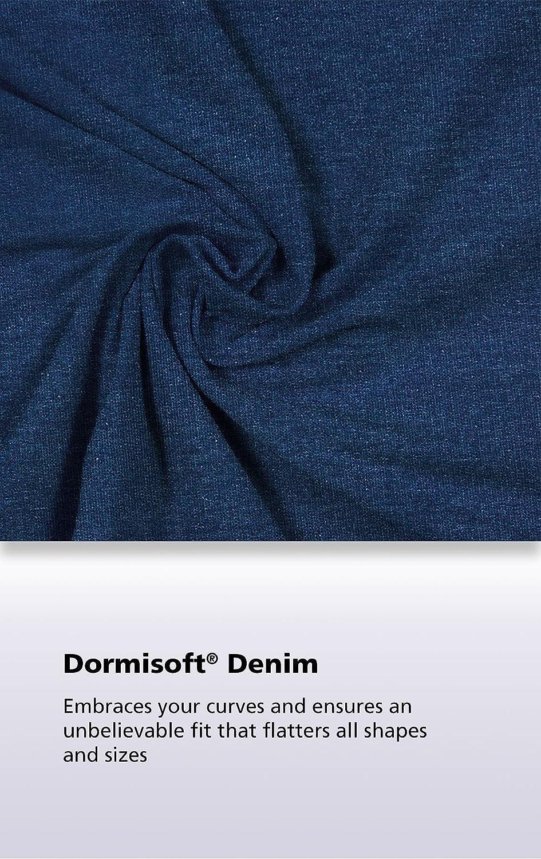 PajamaJeans Womens Lightweight Stretch Denim Bermuda Shorts GAMV05733