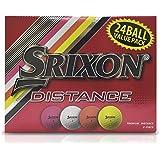 SRIXON DISTANCE 24 Pack golf balls, White