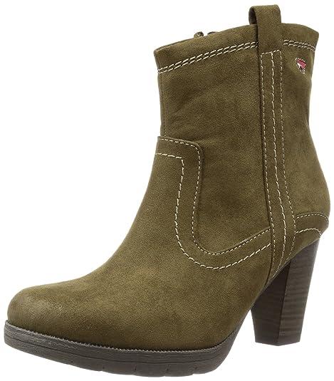 Tamaris Damen Stiefeletten Schuhe Grün | Fruugo