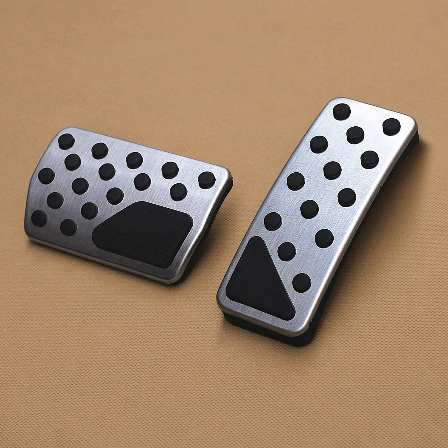 AutoBig Gas Brake Pedal Cover for Jeep Grand Cherokee Dodge Durango 2011-2019 Risway