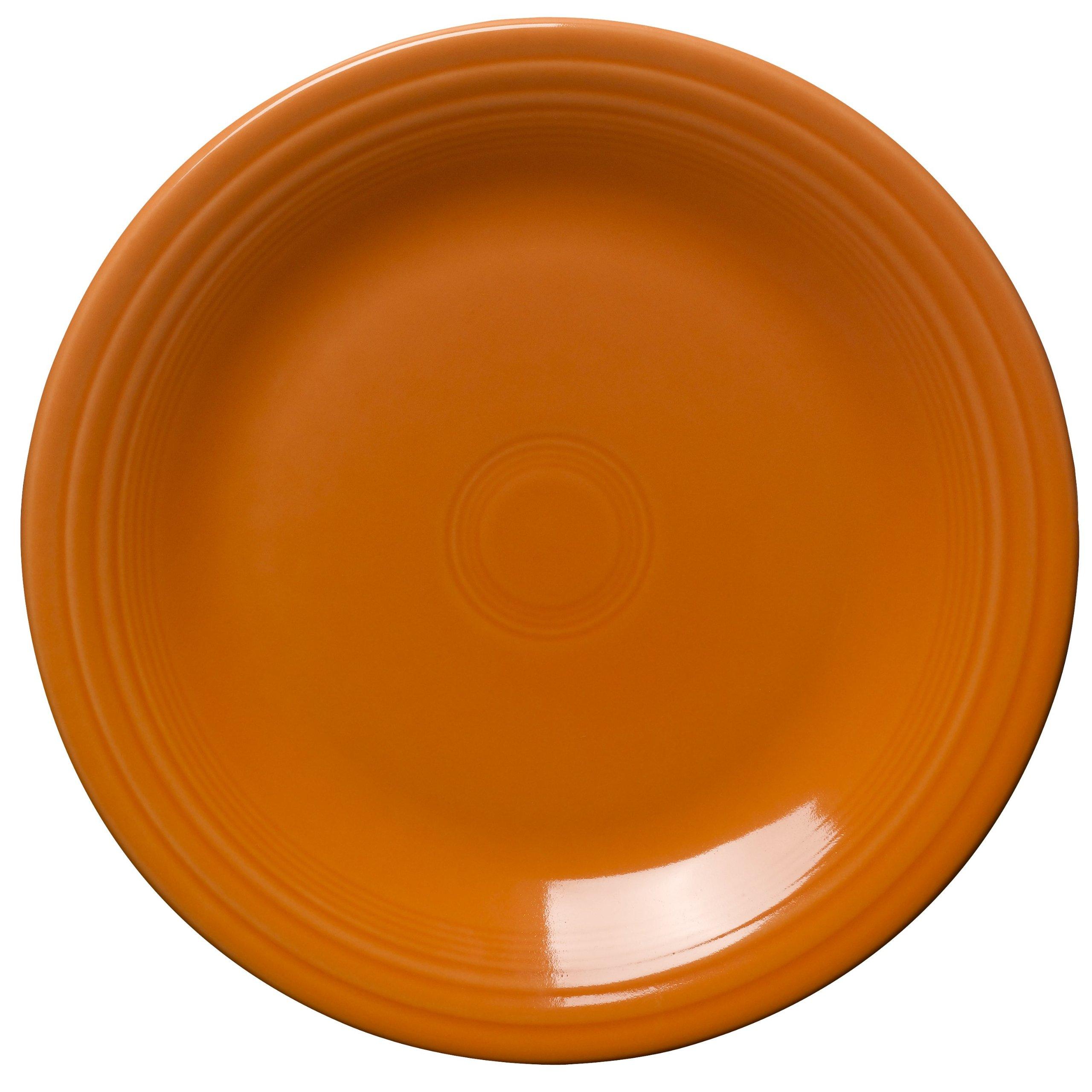 Fiesta 10-1/2-Inch Dinner Plate, Tangerine