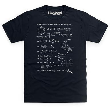 efeb54400 Shotdeadinthehead Answer to Everything Funny Novelty T Shirt, Male:  Amazon.co.uk: Clothing