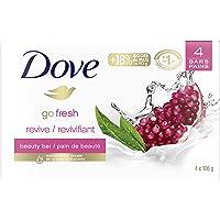 Dove Revive Beauty Bar for Skin Nourishment Pomegranate and Lemon Verbena 106 g 4 count