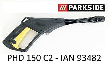 Parkside limpiador de alta presión Pistola PHD 150 C2 – Lidl Ian 93482 con rosca conector