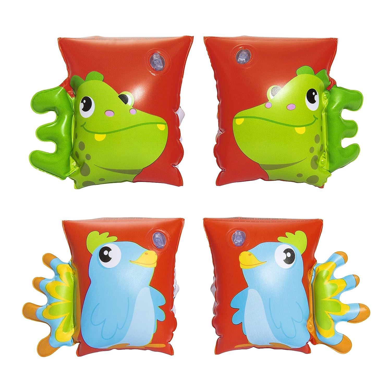 Manguitos Hinchables Bestway Dinosaurio & Loro