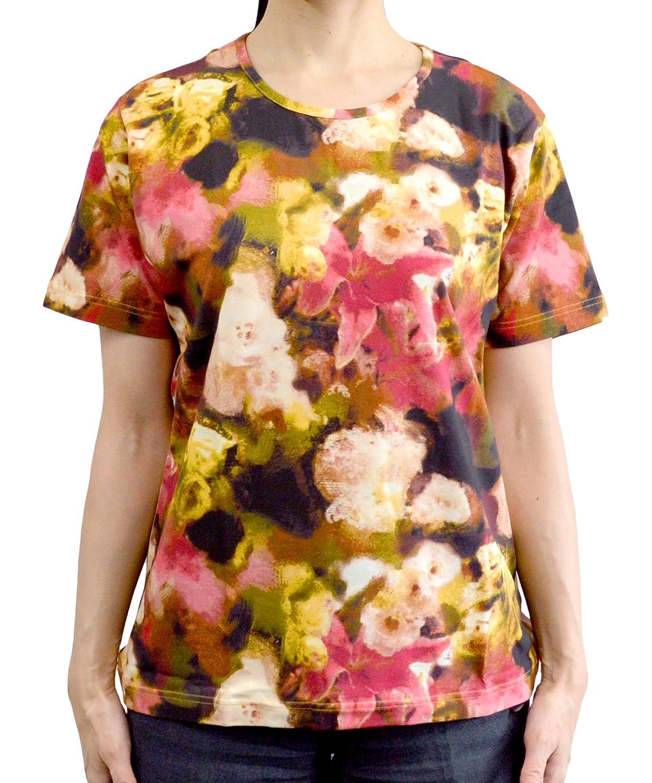 ジムトンプソン Tシャツ フラワーレッド Lサイズ JMTSLFI5484A6 JMTSLFI5484A6 B01KHLOUZW