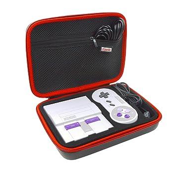 Super NES SNES Classic Case Hard EVA Portable Storage Travel
