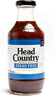 product image for Head Country Sugar Free BBQ Sauce, 20 Fluid Ounce (Pack of 6)