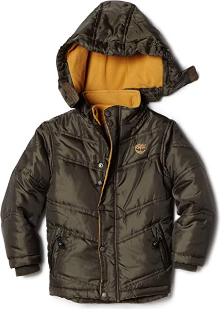 : Timberland Little Boys' Metro Bubble Jacket