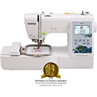 Brother Embroidery Machine, PE535, 80 Built-In Designs, Large LCD Color Touchscreen Display, 25-Year Limited Warranty