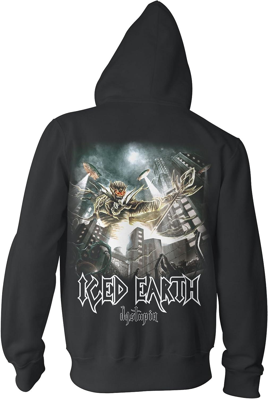 Chameleon Clothing Iced Earth Dystopia 701697 Herren Zip-Hood