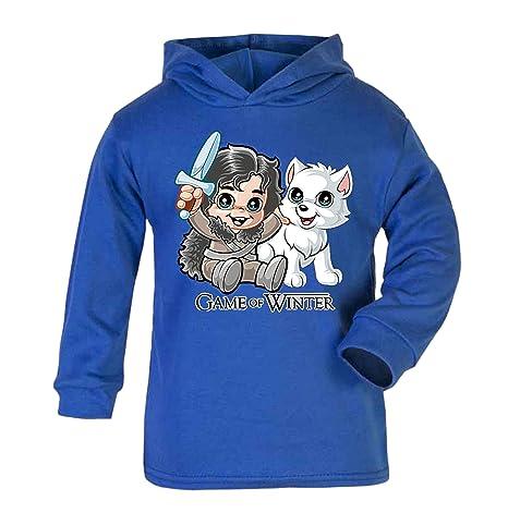 Juego de Tronos de invierno con capucha ligera divertida novedad regalos de bebé GOT regalos de