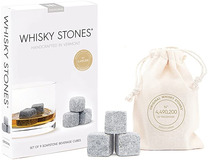 Amazon.com  Original Whisky Stones CLASSIC By Teroforma – Handcrafted  Natural Soapstone Beverage Chilling Cubes (Set of 9)  Kitchen   Dining 4c8f91d75cc5