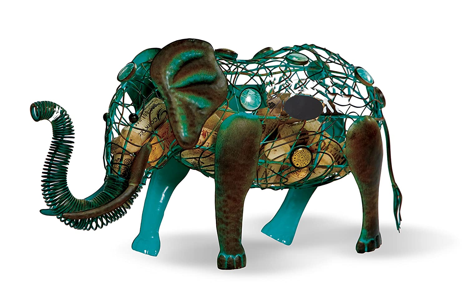 Elephant Cork Caddy Cork Holder By Picnic Plus Displays And Stores Wine Corks Over 54 Wine Corks
