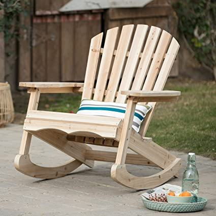 Admirable Amazon Com Outdoor Rocking Chair Unfinished Solid China Download Free Architecture Designs Xerocsunscenecom
