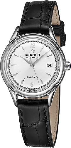 Eterna Heritage 1948 Reloj de Mujer automático 30mm 2956-41-13-1389: Eterna: Amazon.es: Relojes