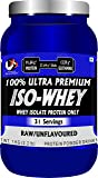 Advance MuscleMass Raw Whey Protein Isolate 90% | Pure | 29.3 g protein | Lab tested | Raw Whey from USA | Unflavoured | 1 Kg (2.2 lb)