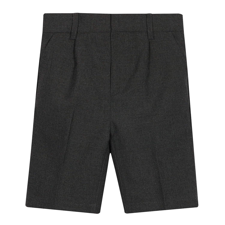 Debenhams Kids 2 Pack Kids Grey Classic School Shorts