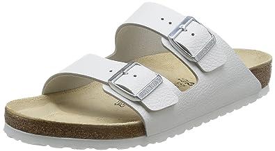 777fd2f2f01 Birkenstock Men´s Arizona White Leather Sandals M14 47