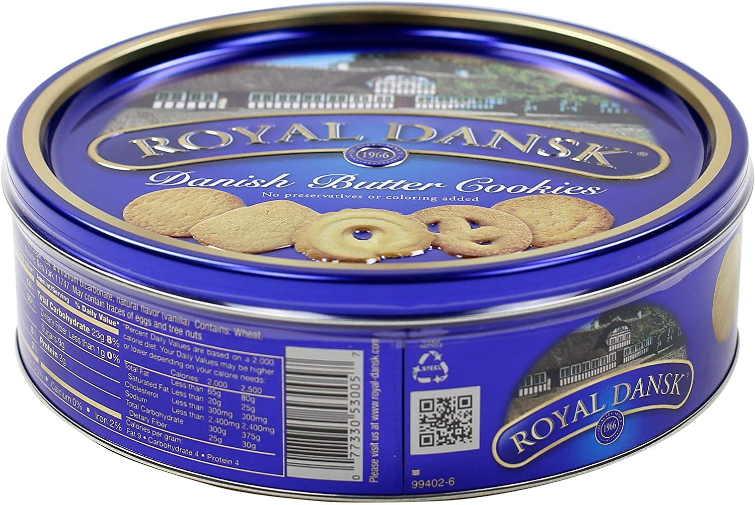 Royal Dansk Danish Cookie Selection, No Preservatives or Coloring Added