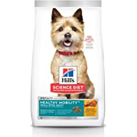 Hill's Science Diet Adult Healthy Mobility Dog Food, Small Bites Chicken Meal & Rice Recipe Dry Dog Food for Joint Health, 1.81kg Bag