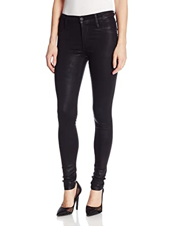 7c75730a12b7f Amazon.com: James Jeans Women's Twiggy Dancer Seamless-Side Yoga Legging  Jean: Clothing