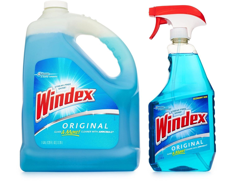 Windex ガラスクリーナー 詰め替え用 32オンス 128オンス B07BGXQTVL