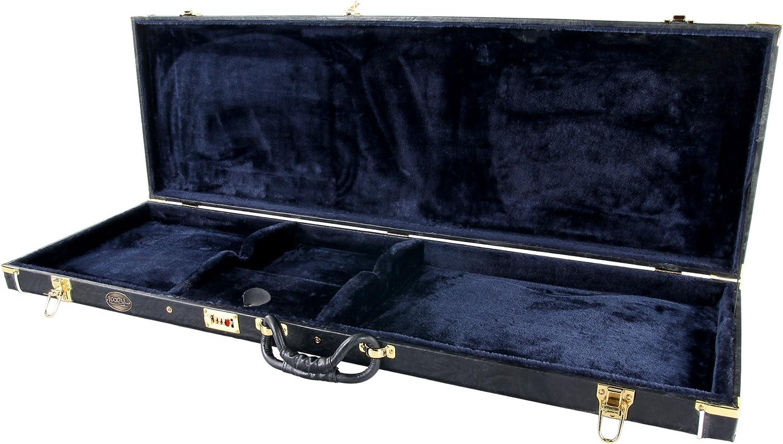 Rocktile 28130 - Estuche para bajo eléctrico estilo J: Amazon.es: Instrumentos musicales