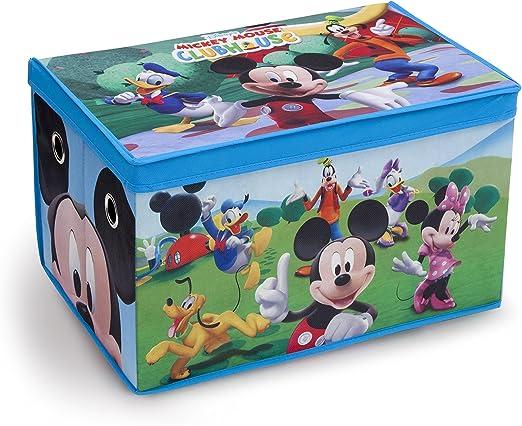 Delta Children Mickey Mouse Plegable - Caja de juguetes, unisex ...