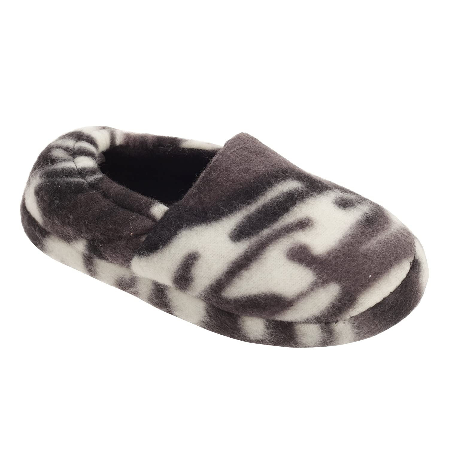 Slumberzzz Childrens Boys Camouflage Design Slippers UTSL508_3