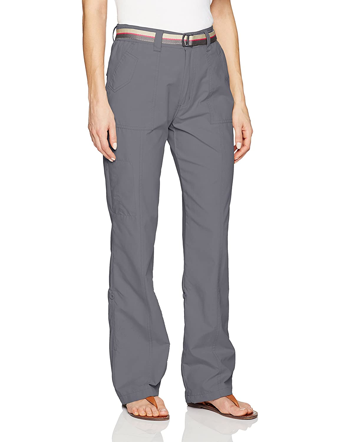 Pacific Trail Pants with Roll Up Cuff M Hidary /& Company Inc. Outdoors